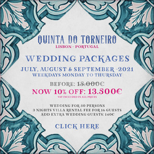 Wedding Package Portugal 2021