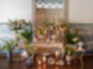 Dessert tafel me speciale decoraties