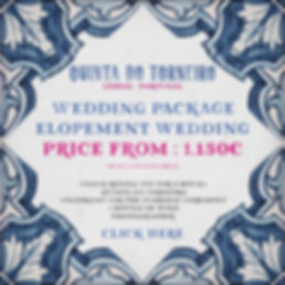 Elopement Wedding Package Portugal 2021