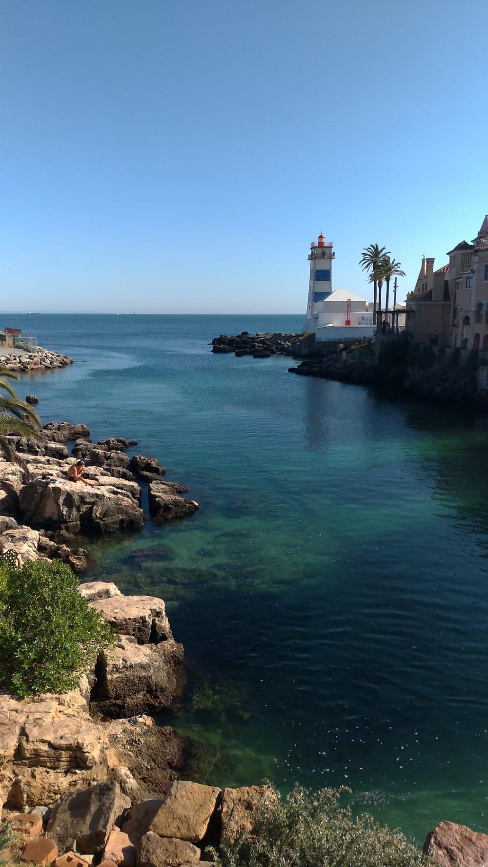 cascais ocean view for a destination overseas wedding in Portugal
