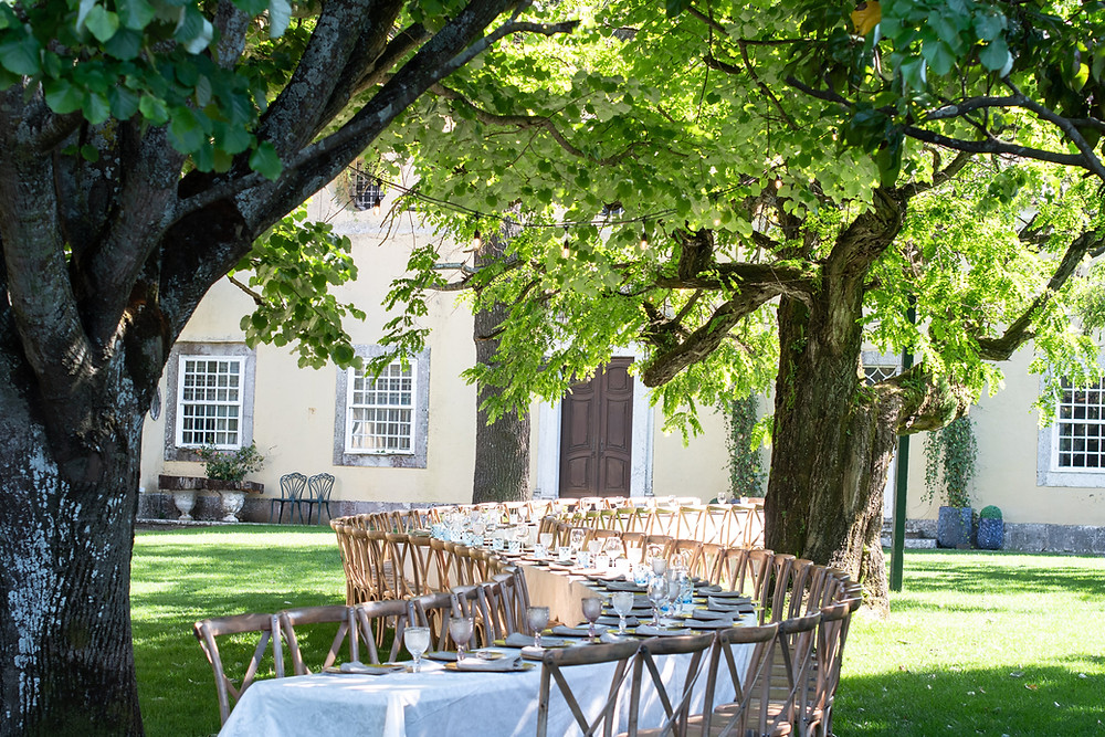 The Quinta do Torneiro in Portugal is the ideal garden outdoor space and location for you to get married in Portugal