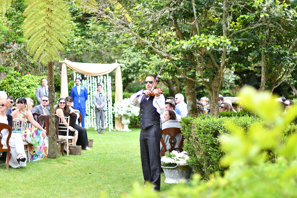 Wedding Ceremony at the Quinta