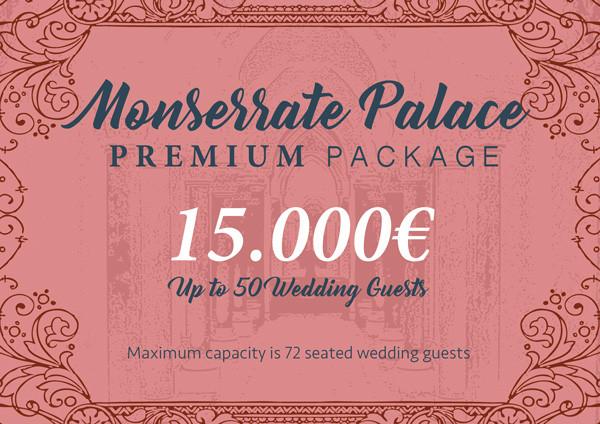 Palacio Monserrate Palace Wedding Package Portugal