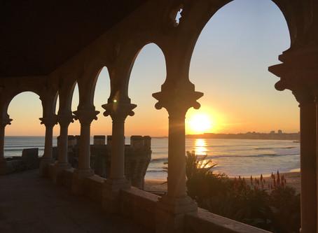 Beach wedding castlevenue in theLisbon Coast of Portugal Forte da Cruz