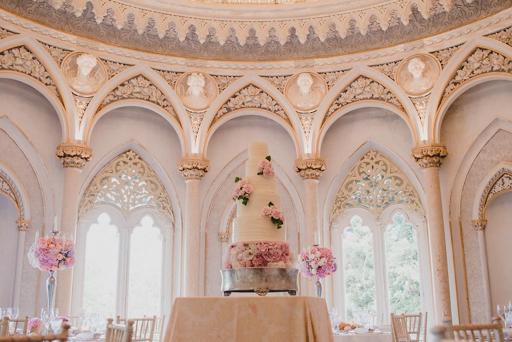 Julie Wedding Cake Design