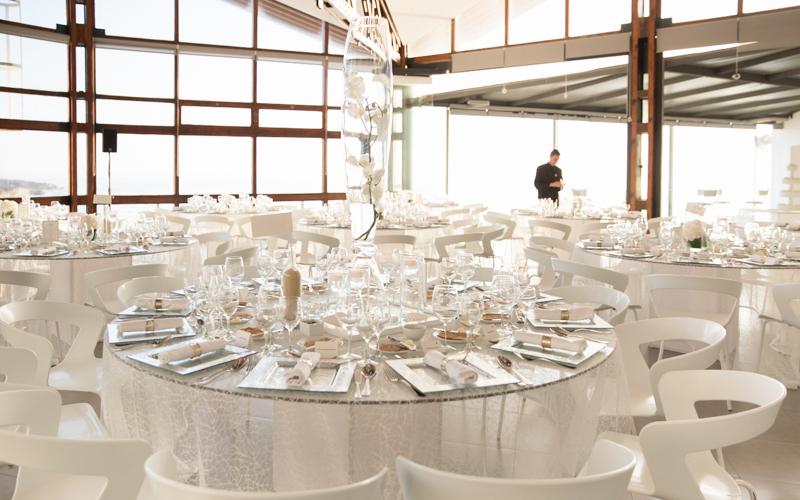 Arriba by the Sea Wedding Reception