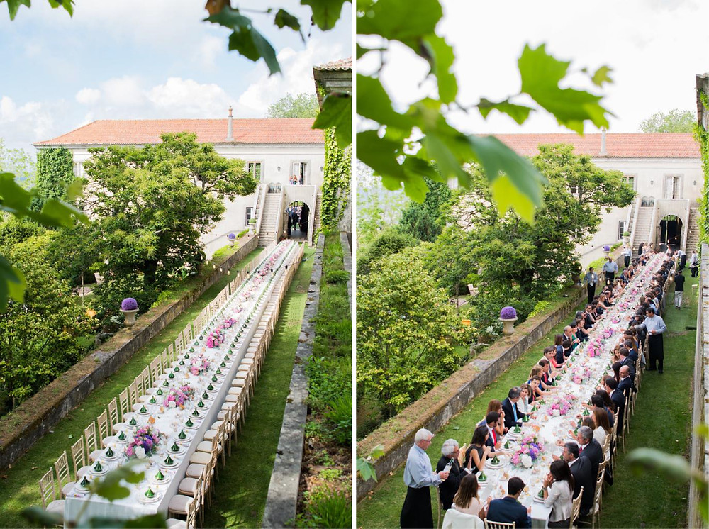 The Quinta My Vintage Wedding Portugal is located in Sintra and is the perfect estate for a rustic wedding outdoors, with several different gardens.