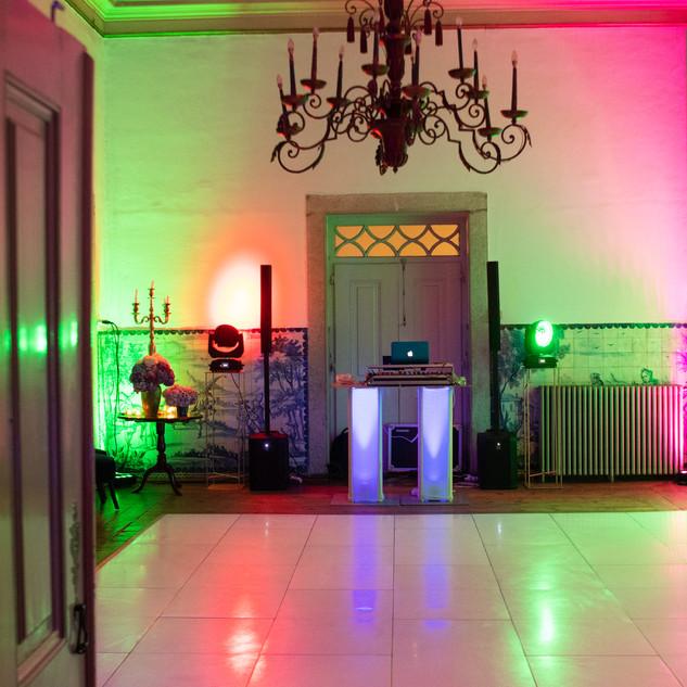 Pista de dança na Quinta do Torneiro em
