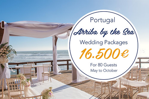 Arriba by the Sea - May to October 80 Guests