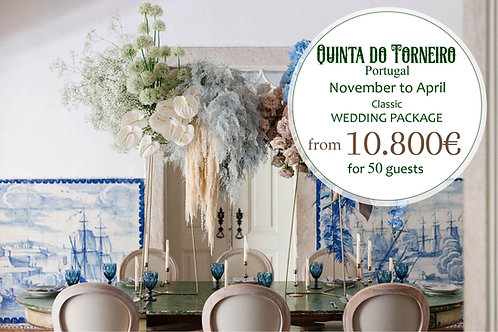 Quinta do Torneiro - Classic Wedding Package