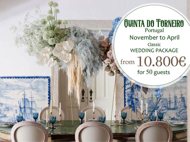 Quinta do Torneiro November to April Pac