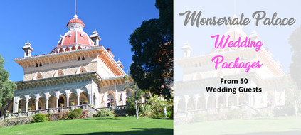 Monserrate Palace Wedding Packages in Portugal