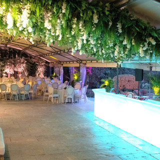 LED bar voor evenementen en bruiloften