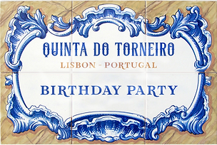 Party packages at Quinta do Torneiro