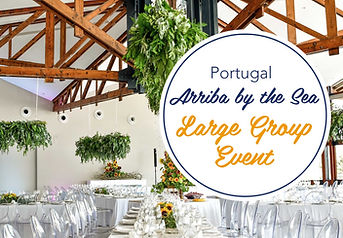 Large Events in Portugal at Arrba by the Sea are always possible. Contact us today,