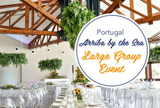 Contact Lisbon Wedding Planner for Large Groups Quotation at Arriba by the Sea Beach Wedding Venue Portugal