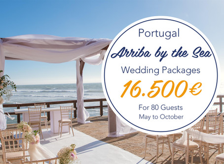 Arriba by The Sea  Destination Weddings and Events  Packages in Portugal
