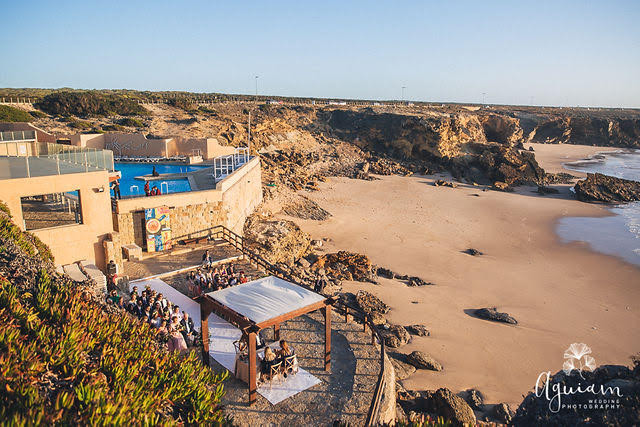 Arriba by the Sea the best beach wedding venue in Portugal