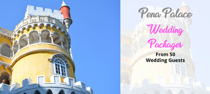 Pena Palace Wedding Packages in Portugal
