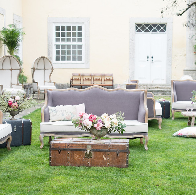 Lounge at Quinta do Torneiro Large Destination Wedding Venue Portugal with Gardens and Rooms with Tiles and accomodation