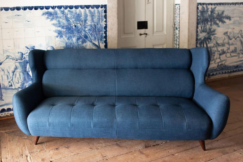 Sofa Azul Duplo