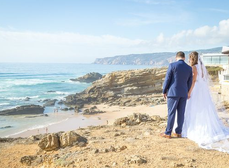 Cascais Beach Wedding in Portugal