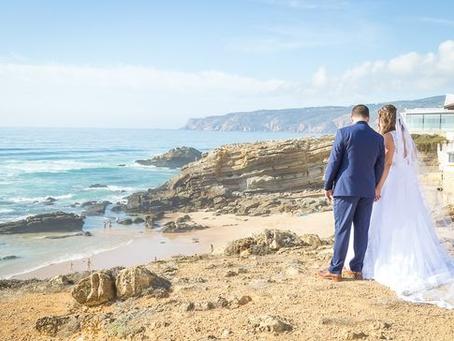 Cascais Beach Wedding in Portugal