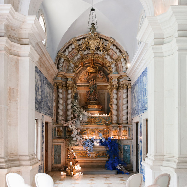 De Kapel van Quinta do Torneiro, in Lissabon.