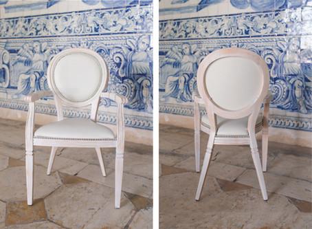 Modelos de Cadeiras para o seu Casamento na Quinta do Torneiro