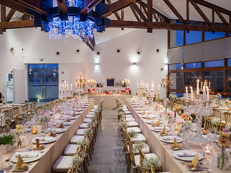Long wedding tables ideas for your wedding reception in Portugal