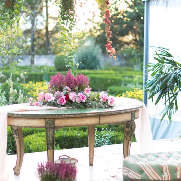 French Garden for wedding and events in Lisbon, Portugal