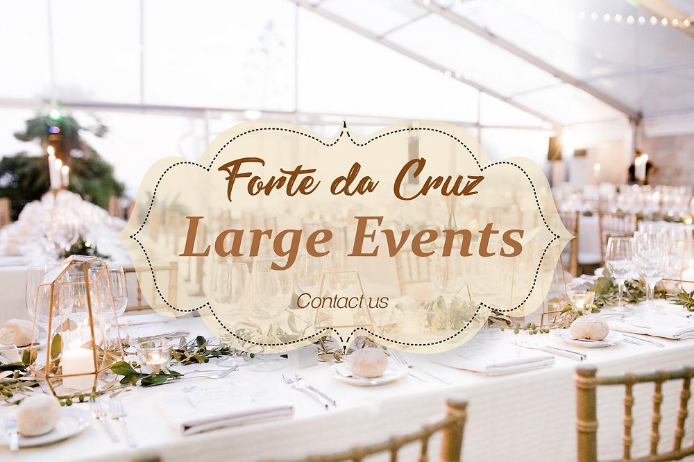 Forte da Cruz Large Events Portugal