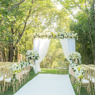 Garden Ceremony at Quinta do Torneiro Large Destination Wedding Venue Portugal with Gardens and Rooms with Tiles and accomodation