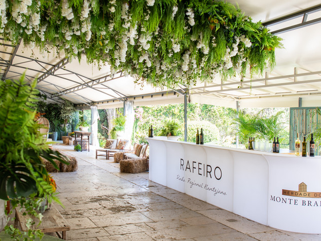 Greenhouse of Quinta do Torneiro for eve