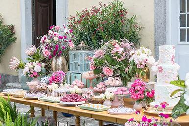 Dessert Table at Quinta do Torneiro