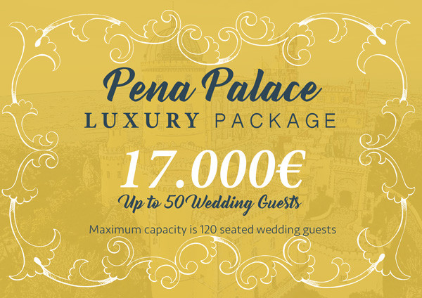Pena Palace Castle Wedding Package Portugal