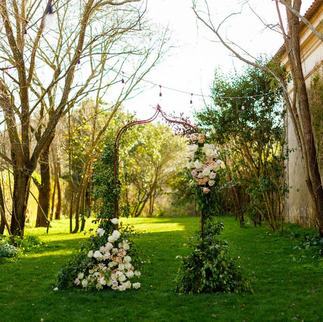 Wedding alter at Quinta do Torneiro