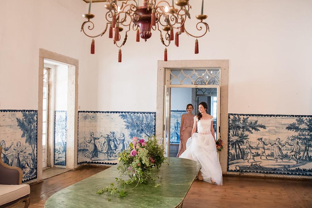 A Quinta do Torneiro espaço para casamento em Portugal tem bonitos azulejos no seu interior e uma antiguidade genuína e tipicamente portuguesa. Na Quinta da Torneiro o seu casamento em Portugal sera perfeito. #quintadotorneiro