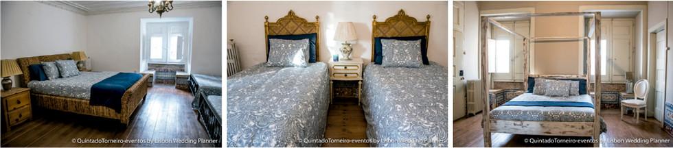 slaapkamers - Quinta do Torneiro - My destination weddig Portugal