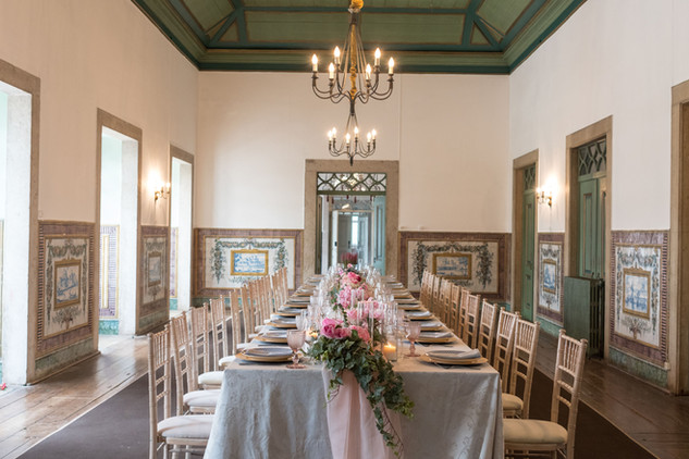 Room for wedding and events at Quinta do Torneiro in Lisbon, Portugal