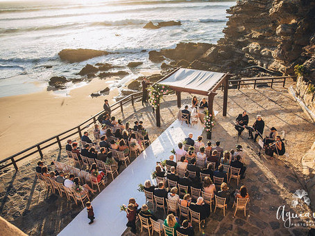 Arriba by the Sea - Mariage Rustique sur la Plage au Portugal