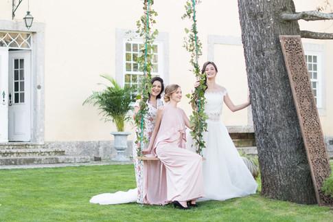 Garden Wedding at Quinta do Torneiro in Lisbon, Portugal