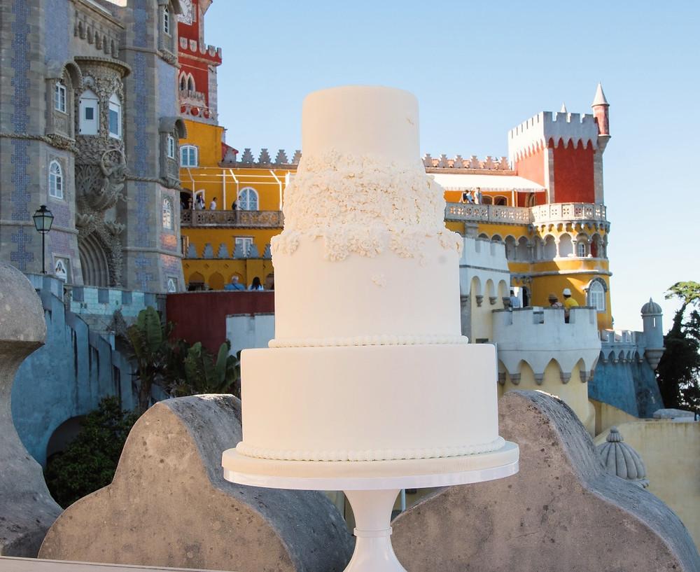Wedding Cake Design Pena Palace