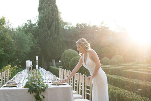 Franse Tuin voor evenementen en uw desrination wedding bij Quinta do Torneiro in Portugal