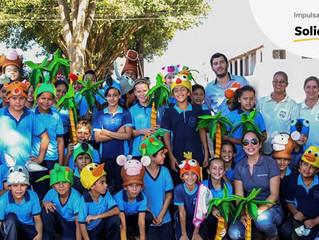 Diversión y aprendizajes ambientales en la Expo Canindeyú