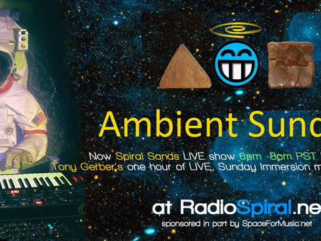 Live streaming music every Sunday!