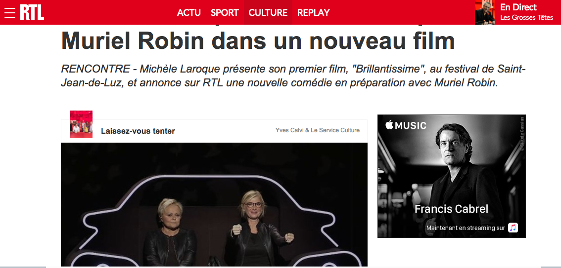 RTL 18 septembre 2017