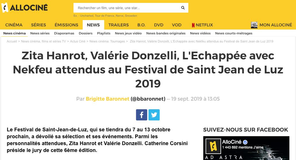 19-09-2019 AlloCine.fr