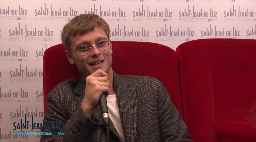 """Interview de l'acteur Rod PARADOT pour le film """"L'échappée"""""""