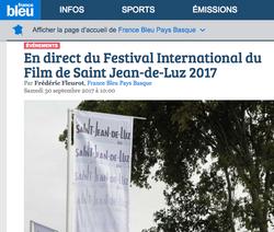 France Bleu 30 septembre 2017